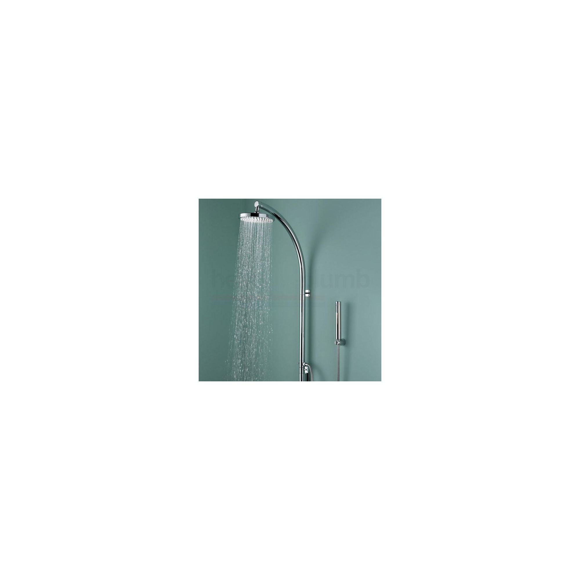 Bristan Prism Inline Vertical Shower Pole with Integral Diverter to Handset Chrome Plated at Tesco Direct
