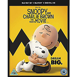 Snoopy And Charlie Brown The Peanuts Movie Blu-ray 3D