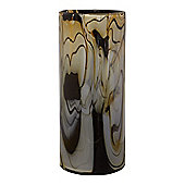 Biba Cream & Black Swirl Vase, Small