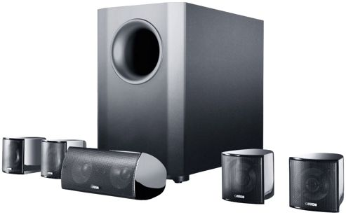 CANTON MOVIE 90 5.1 HOME CINEMA SPEAKER SYSTEM (BLACK)