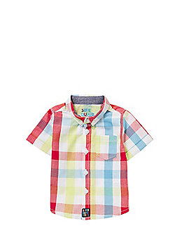 F&F Checked Short Sleeve Shirt - Multi