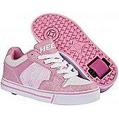 Heelys Motion Pink/White Heely Shoe - Pink