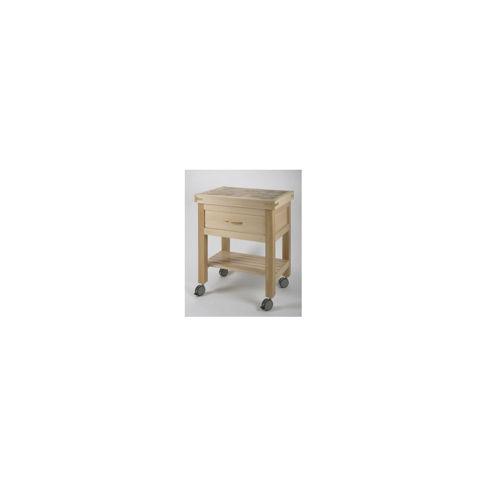 Chabret Kitchen Cart - 85cm X 70cm X 50cm at Tesco Direct