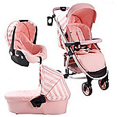 My Babiie Billie Faiers MB100+ Travel System (Pink Stripes)