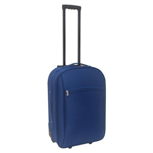 Tesco 2-Wheel Suitcase, Navy Medium