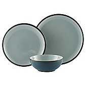 Denby Everyday 12 Piece, 4 Person Dinner Set, Teal