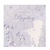 Enchanted Pageboy Wedding Thank You Card