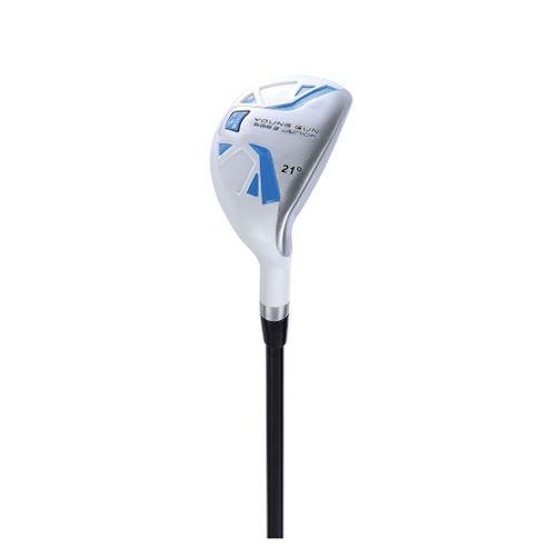 Young Gun Sgs V2 Junior Golf 21 Degree Hybrid Right Hand Blue Age 6-8