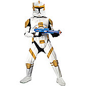 Commander Cody Costume Clone Trooper (Deluxe) Extra Large