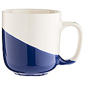 Tesco Dipped Mug, Navy