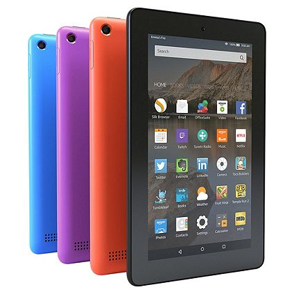 Amazon Fire 7 Tablet now available in a range of New colours with 8GB & 16GB memory