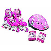 Hello Kitty Inline Roller Skates Set. - Outdoor and Sports