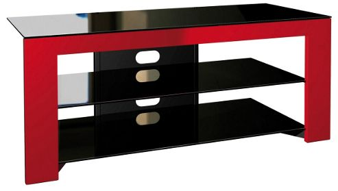 Norstone Nelio Red TV Stand for TVs up to 52 inch