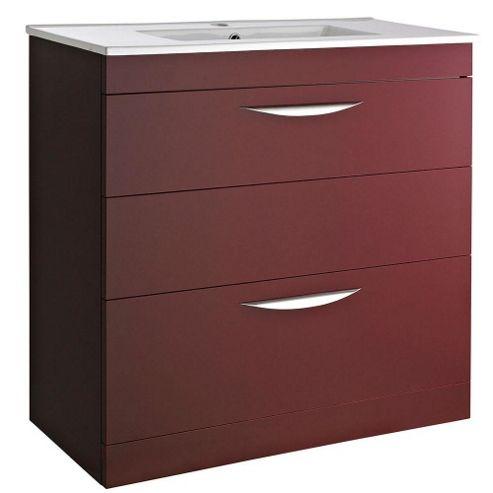 Buy hudson reed memoir floor mounted vanity unit 800mm for Bathroom cabinets 800mm wide