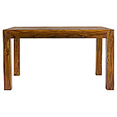 Elements Cubex Petite 135cm Dining Table in Warm Lacquer