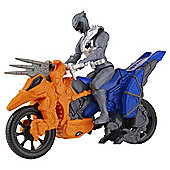 Power Rangers Dino Supercharge Dino Cycle and Graphite Ranger Action Figure