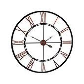 Vintage Skeleton Wall clock - Oversized