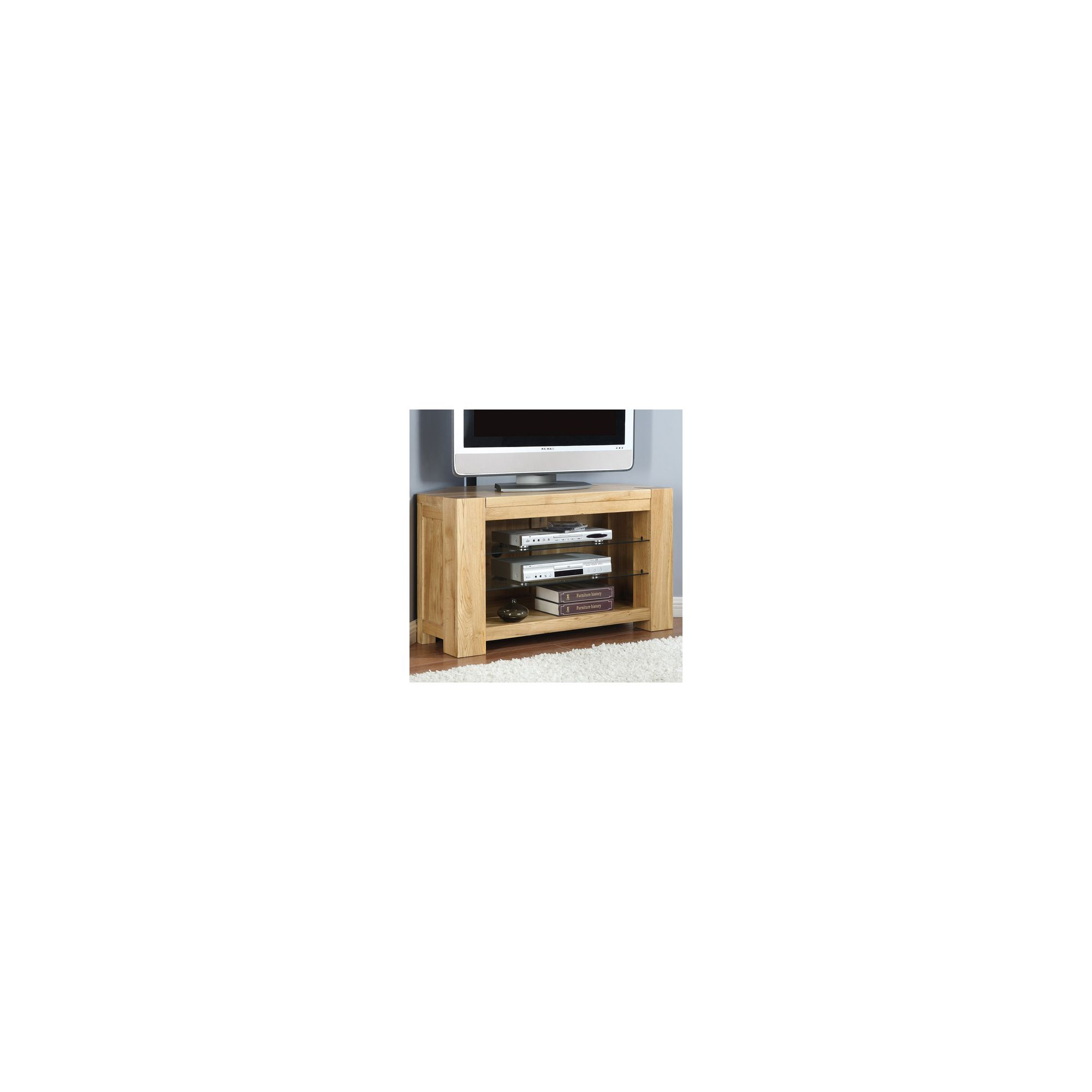 Shankar Enterprises Oslo Corner TV Stand at Tesco Direct