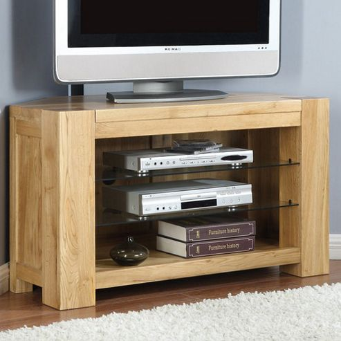 Shankar Enterprises Oslo Corner TV Stand