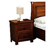 Sweet Dreams Jackdaw Bedside Cabinet - Mahogany