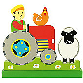 Bigjigs Toys BJ674 Vertical Magnetic Puzzle Farm