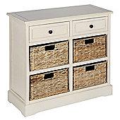 Pacific Lifestyle 2 Drawer 4 Basket Storage