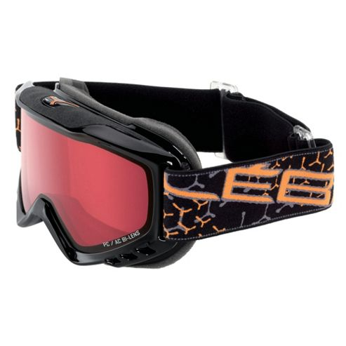 Cebe Ethic Ski Goggles Black/Orange Flash