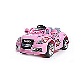 New Coupe Roadster 12V Kids Electric Ride On In Pink