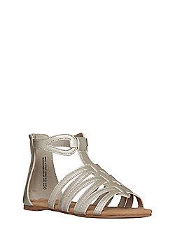 F&F Gladiator Sandals - Gold