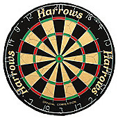 Harrows Official Competition 100% Bristle Board With Staple Free Bullseye