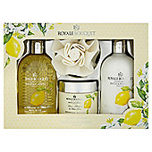 Baylis & Harding Royale Bouquet Lemon Blossom & White Rose Benefit Set