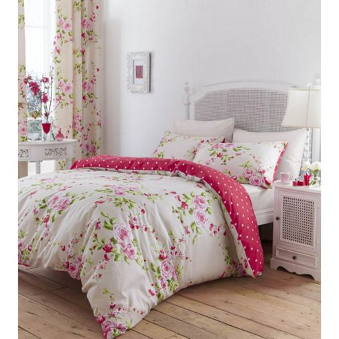 Canterbury King Duvet Set - Red