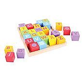 Bigjigs Toys BB032 ABC Blocks