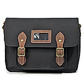 TRP0336 Troop London Heritage Canvas Messenger Bag