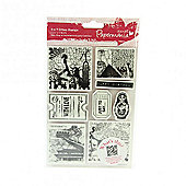 Urban Stamp Set - Bookprint - Around the World 1
