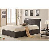 MetalBedsLtd Texas New Ottoman Bed Frame - Black - Single (3')