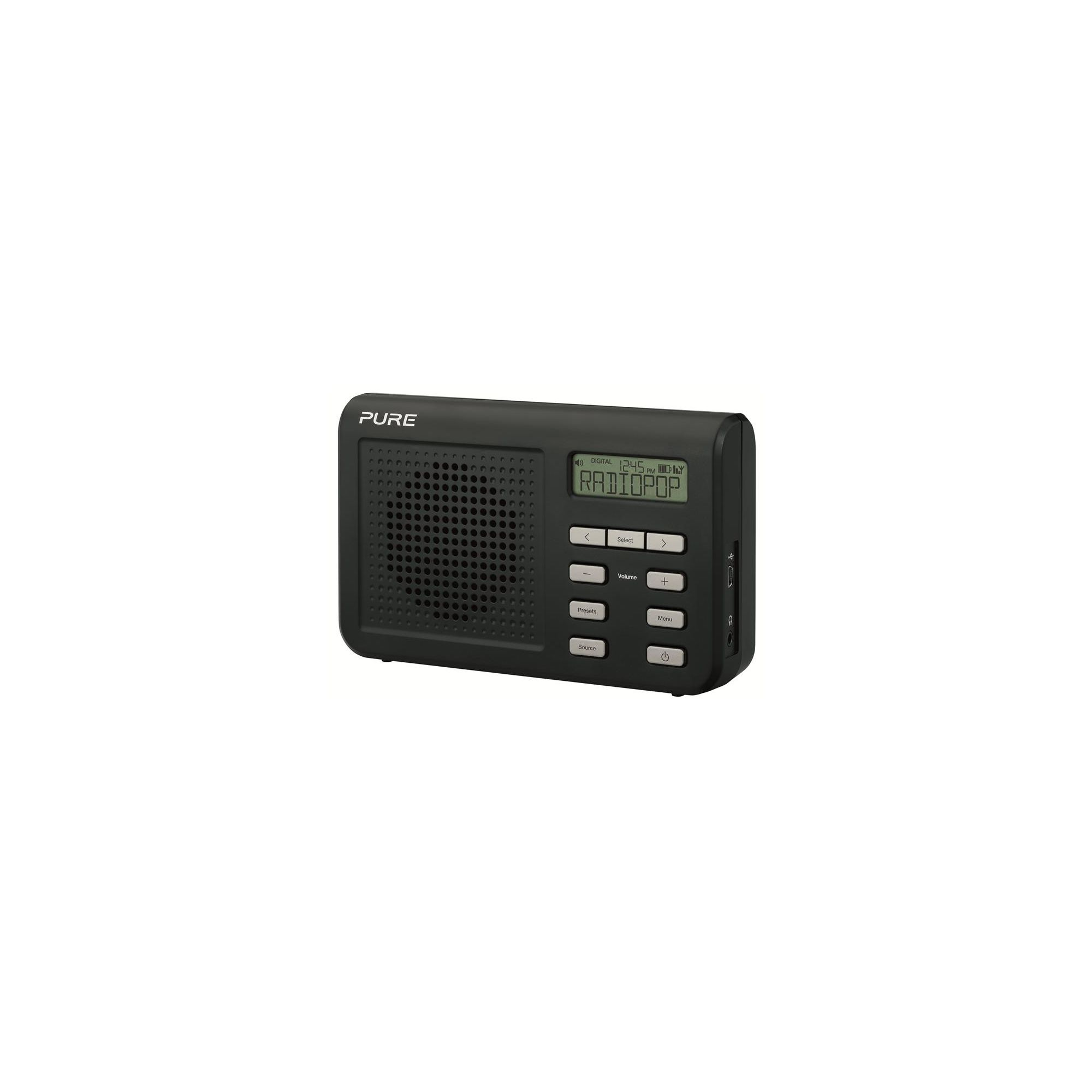 pure one mi dab fm portable radio best deals on dab radio. Black Bedroom Furniture Sets. Home Design Ideas