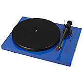 Project Debut Carbon Turntable (Gloss Blue)