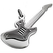 Urban Male Stainless Steel Guitar Pendant