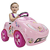 Injusa Disney Princess Battery Operated Ride-On Car