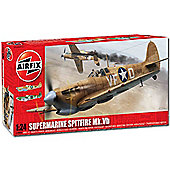 Airfix A12005A Supermarine Spitfire Mk.Vb 1:24 Aircraft Model Kit