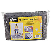 Rolson Absorbent Dust Sheet 1m x 3m