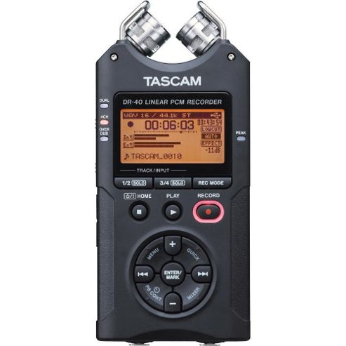 Tascam DR40 Linear PCM Handy Recorder