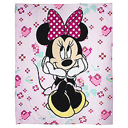 Dinsey Minnie Mouse Fleece Blanket