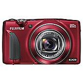 "Fuji F900 Digital Camera, Red, 16MP, 20x Optical Zoom, 3"" LCD Screen"