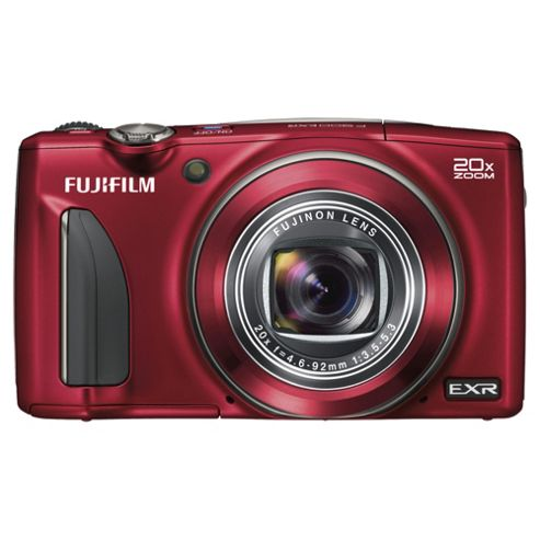 Fuji F900 Digital Camera, Red, 16MP, 20x Optical Zoom, 3