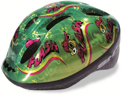 SH+ Lucky Childrens Helmet: Green Small.