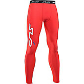 Subsports Cold Thermal Legging Adult - Red
