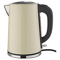 Tesco Stainless Steel Jug Kettle - Cream