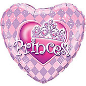 "18"" Heart Princess Tiara (each)"